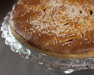Pudding abrikoos deksel