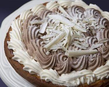 Pudding chocomousse koekjesdeeg